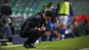Rúben Amorim expulso após fim da partida entre Sporting e Famalicão
