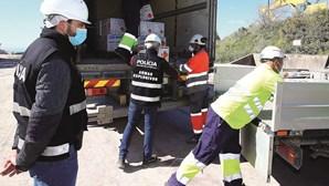 Polícia aperta cerco a substância de bombas e explosivos