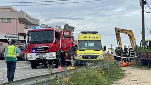 Funcionário das Águas de Barcelos morre soterrado durante trabalhos em vala
