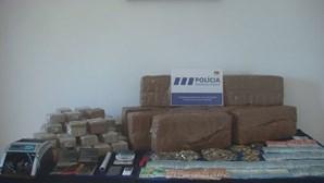 PSP de Santarém apanha meio milhão de euros em droga