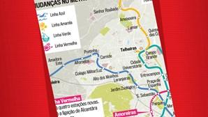 Expansão da rede do Metro em Lisboa