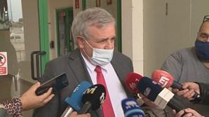 Vasco Brazão, ex-investigador Polícia Judiciária Militar, ouvido em tribunal no caso de Tancos