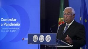 """Costa admite que Portugal entre na 'lista negra' de viagens """"em toda a Europa"""""""