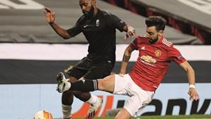 Bruno Fernandes leva United às 'meias' da Liga Europa