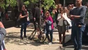 Pelo menos 10 detidos em manifestação de negacionistas em Lisboa