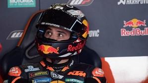 """Miguel Oliveira foi até ao fim do MotoGP de Portugal """"por respeito aos fãs portugueses"""""""