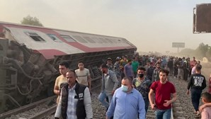 Pelo menos 11 mortos em descarrilamento de comboio no Egito