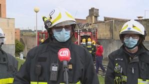 Incêndio deflagra em ginásio num prédio em Matosinhos
