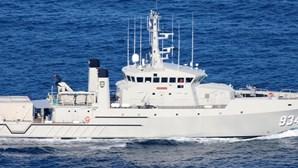 Novo navio da Marinha da Nigéria faz escala em Lisboa na viagem inaugural