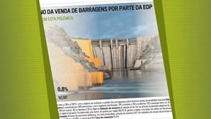 Polémica em torno da venda de barragens por parte da EDP