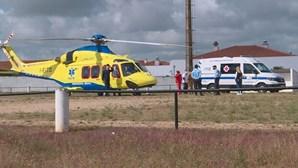 Mulher cai em fosso de elevador e sofre ferimentos graves em Moura