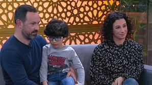 André tem 5 anos e foi diagnosticado aos três com paraplegia espástica