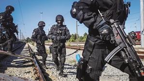 Polícias em alerta após ameaça terrorista contra forças de segurança