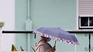 Norte do País com chuva e sul com sol e a chegar aos 29 graus de máximas