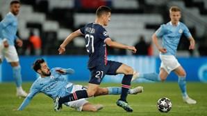 Manchester City vence PSG e está na final da Liga dos Campeões