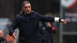 Carlos Carvalhal promete Sporting de Braga destemido para ganhar na Sérvia