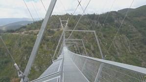 """Arouca tem maior ponte suspensa do Mundo e promete """"nervoso miudinho"""""""