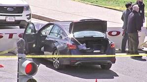 Carro foi examinado após ataque