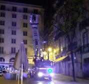 Nove turistas feridos em incêndio num hostel na Baixa de Lisboa