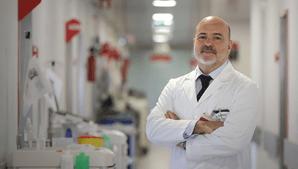 O cirurgião Luís Baquero