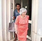 Maria Adelaide Monteiro, mãe do antigo chefe do Governo