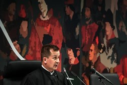 Juiz Ivo Rosa em tribunal
