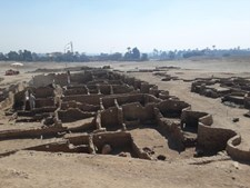 A 'cidade perdida' encontrada por arqueólogos no Egipto