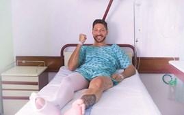 Ângelo Rodrigues passou por várias cirurgias