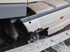 Despiste camião