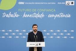 Jerónimo de Sousa apresenta João Ferreira como candidato a Lisboa