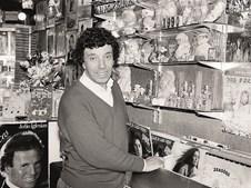 Nos anos 70 abriu uma loja de discos