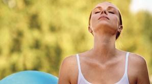 Exercícios respiratórios são bons para a ansiedade