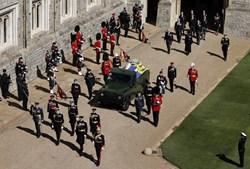 O último adeus ao príncipe Filipe de Inglaterra