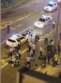 Aparato policial: cerca de onze carros da PSP e vários agentes desmobilizaram conhecidos da vítima em Lisboa