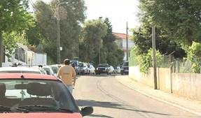 Bairro onde o crime teve lugar, em São Domingos de Rana