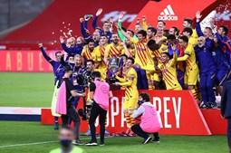 Barcelona conquista Taça do Rei