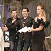 Pedro Fernandes com Marco Horácio e Cristina Ferreira