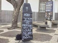Funchal também aderiu ao protesto dos profissionais da Cultura