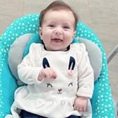 Maria Clara tem apenas quatro meses
