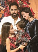 Cláudia Vieira refez a sua vida ao lado de João Alves, pai da filha mais nova, Caetana