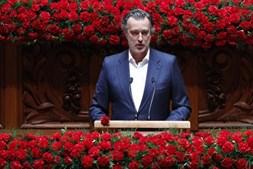 João Cotrim Figueiredo nas comemorações do 25 de Abril no Parlamento