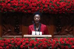 Beatriz Gomes Dias nas comemorações do 25 de Abril no Parlamento