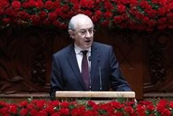 Rui Rio nas comemorações do 25 de Abril no Parlamento