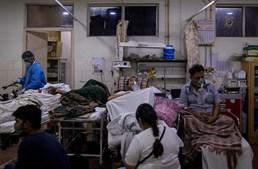 Caos hospitais Índia