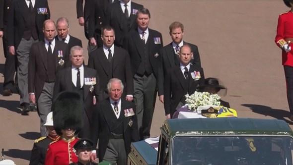 Emoção e dor no último adeus ao príncipe Filipe