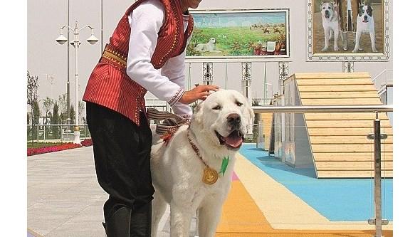 Feriado canino do Turquemenistão