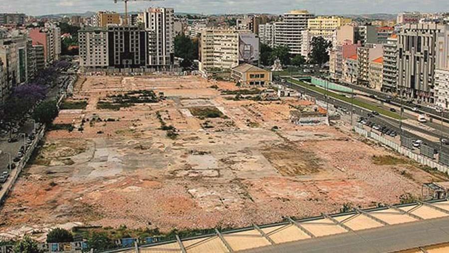 Os terrenos da antiga Feira Popular, em Entrecampos, Lisboa, estão a ser intervencionados desde 2019
