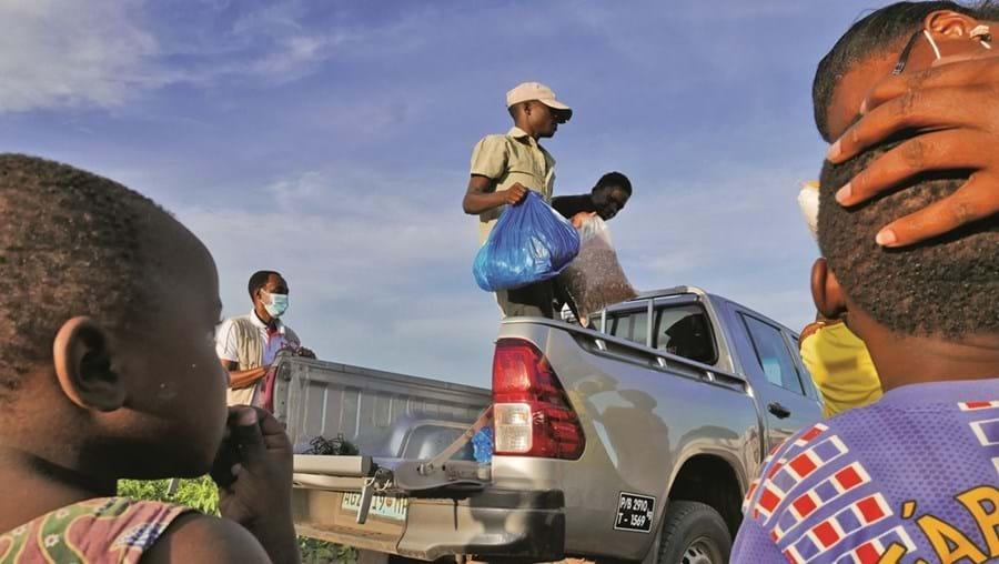 Pemba, capital da província de Cabo Delgado, está sobrelotada e não tem meios para alimentar e alojar os refugiados