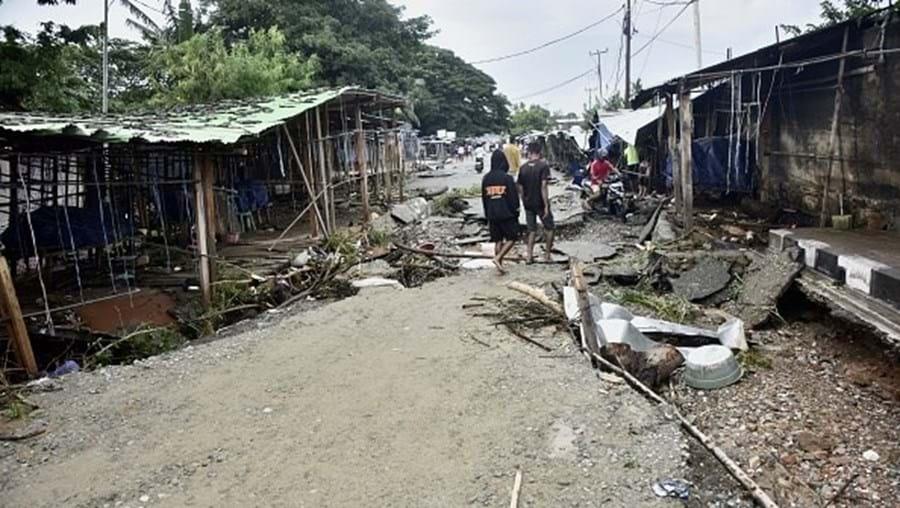 Cheias atingiram grande parte da cidade de Díli