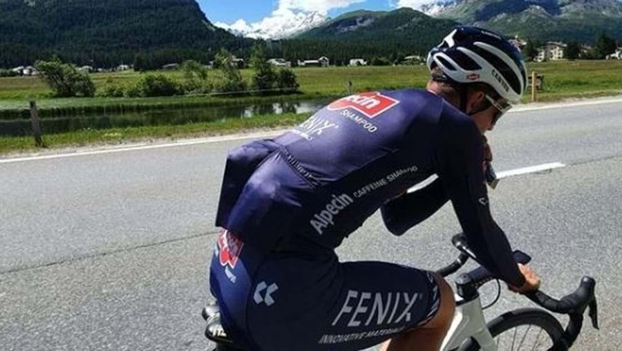 Ciclista Otto Vergaerde